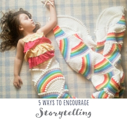 encourage story telling