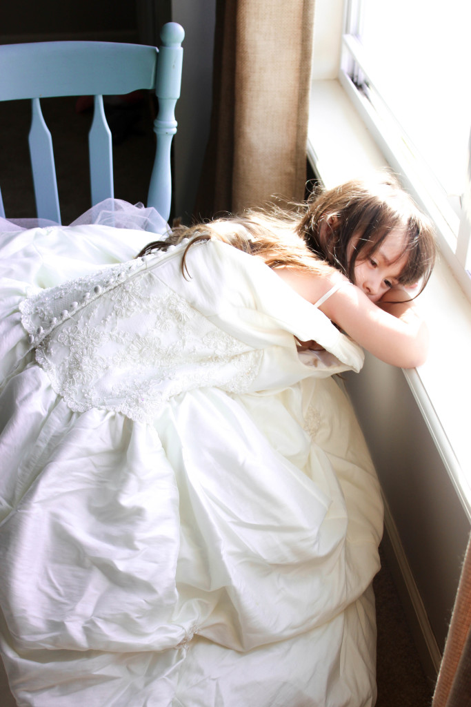 Let your daughter wear your wedding dress