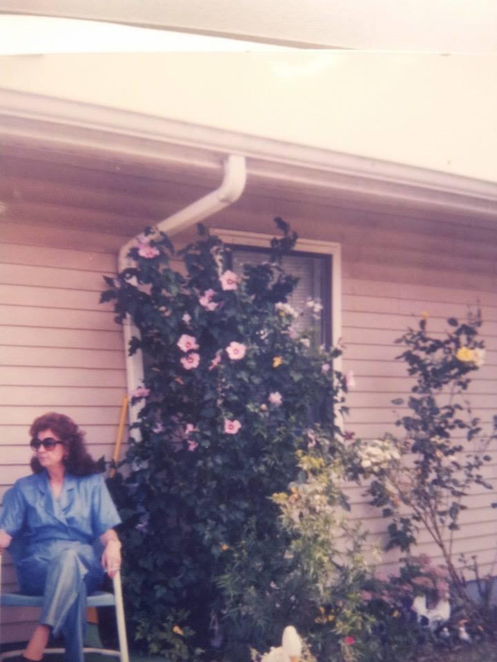 "This is my grandma, Charlene, in her ""Designing Women"" phase."