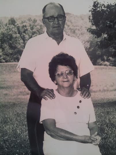 My great-grandparents, Gertrude and Morris.