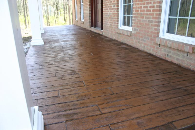 Well known 7 Ways to Add Character to a Concrete Porch • Our Storied Home PM38