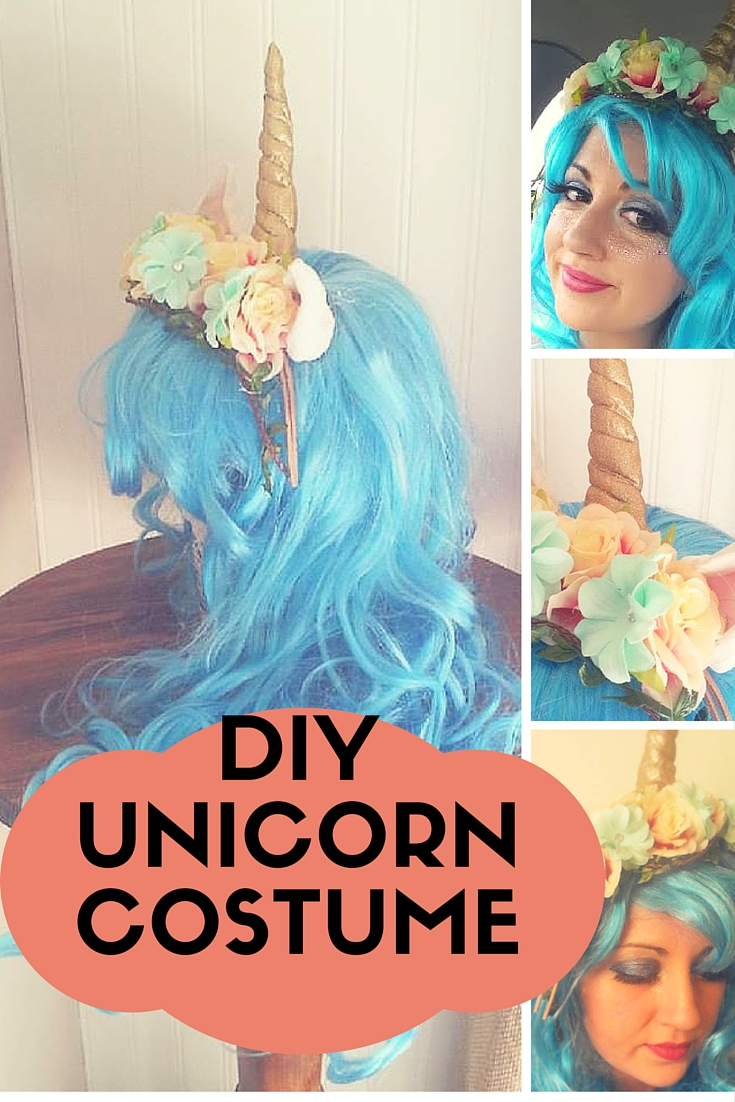 DIY Unicorn Costume -- Could Also Be My Little Pony • Our Storied Home d9334118a48