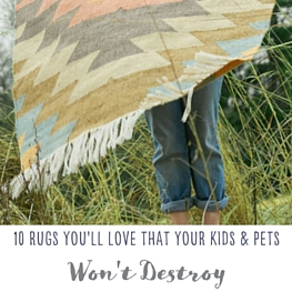 10 easy to care for and affordable rugs for your home!