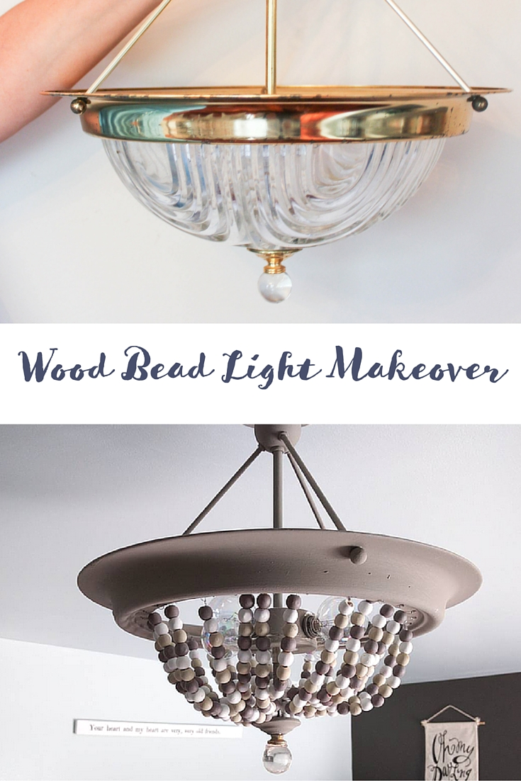 How To Turn A Builder Basic Light Into A Beaded Light Idea