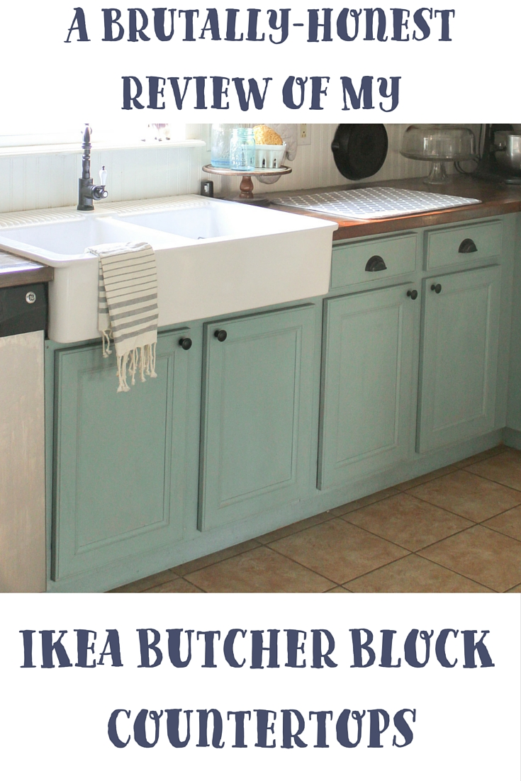 A Brutally-Honest Review of Ikea Butcher Block Countertops - Our ...
