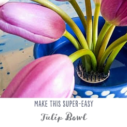 Make This Super Easy Tulip Bowl