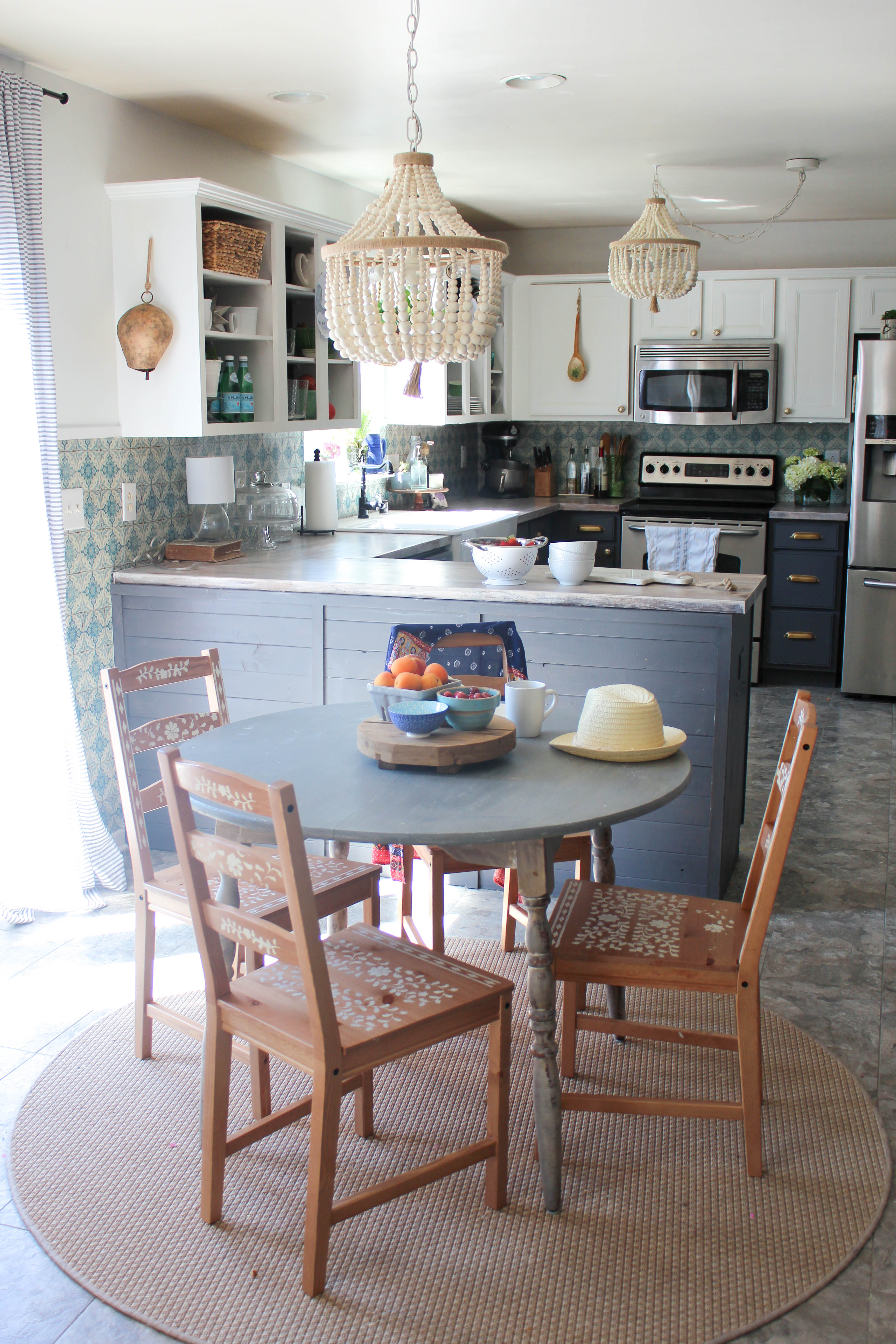 Our Storied Home Boho Kitchen