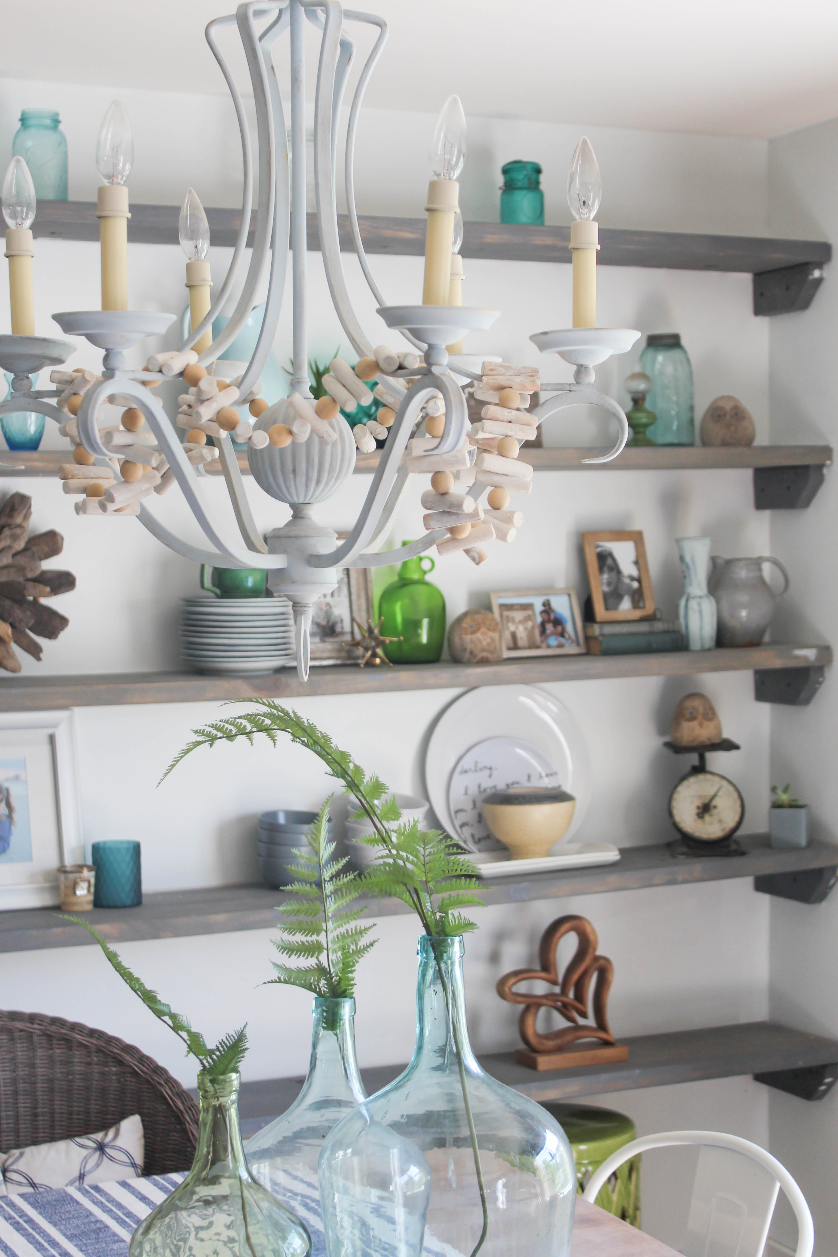 Our Storied Home Open Shelves