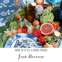Boho Tablescape Feature