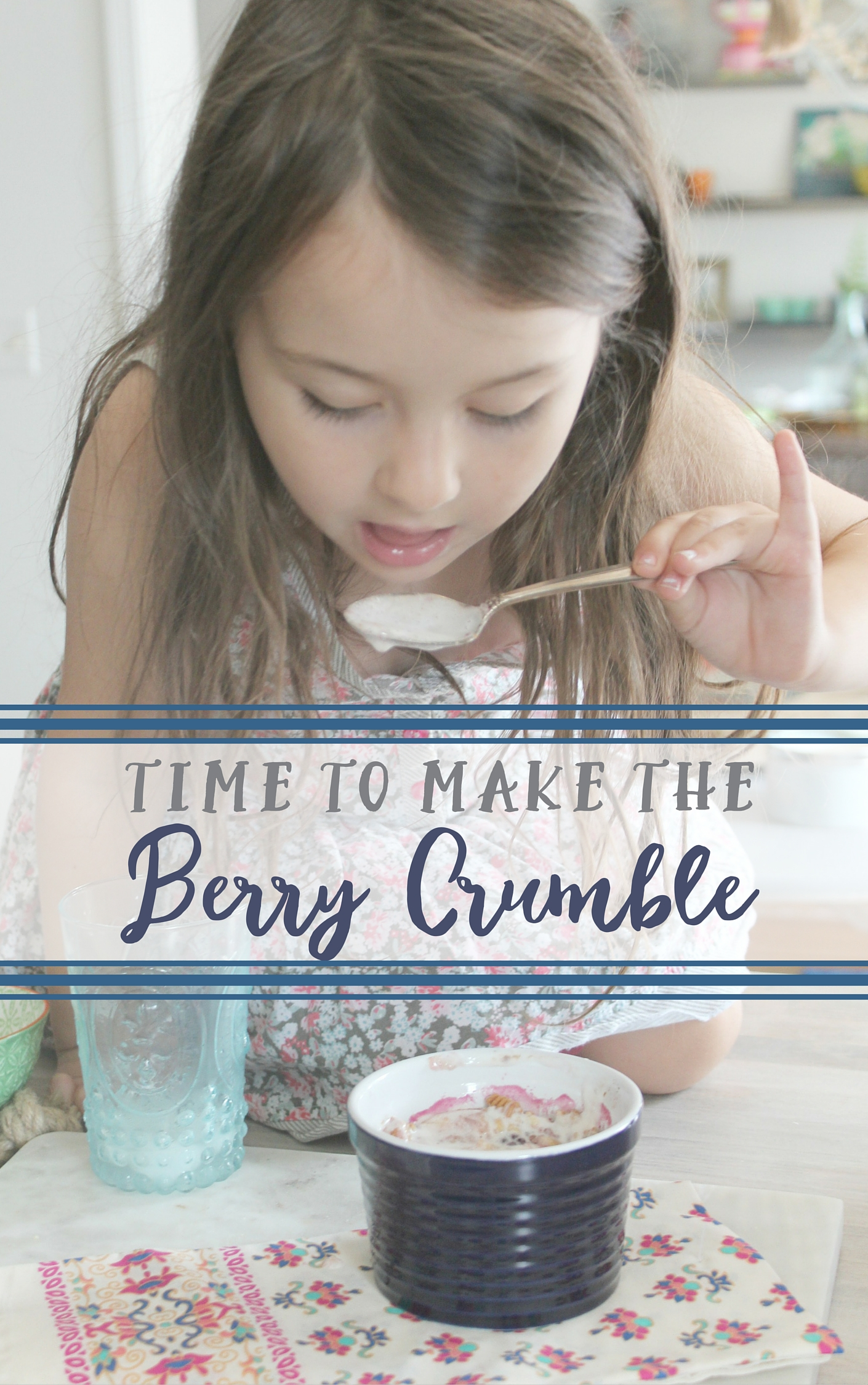 Time to Make the Berry Crumble