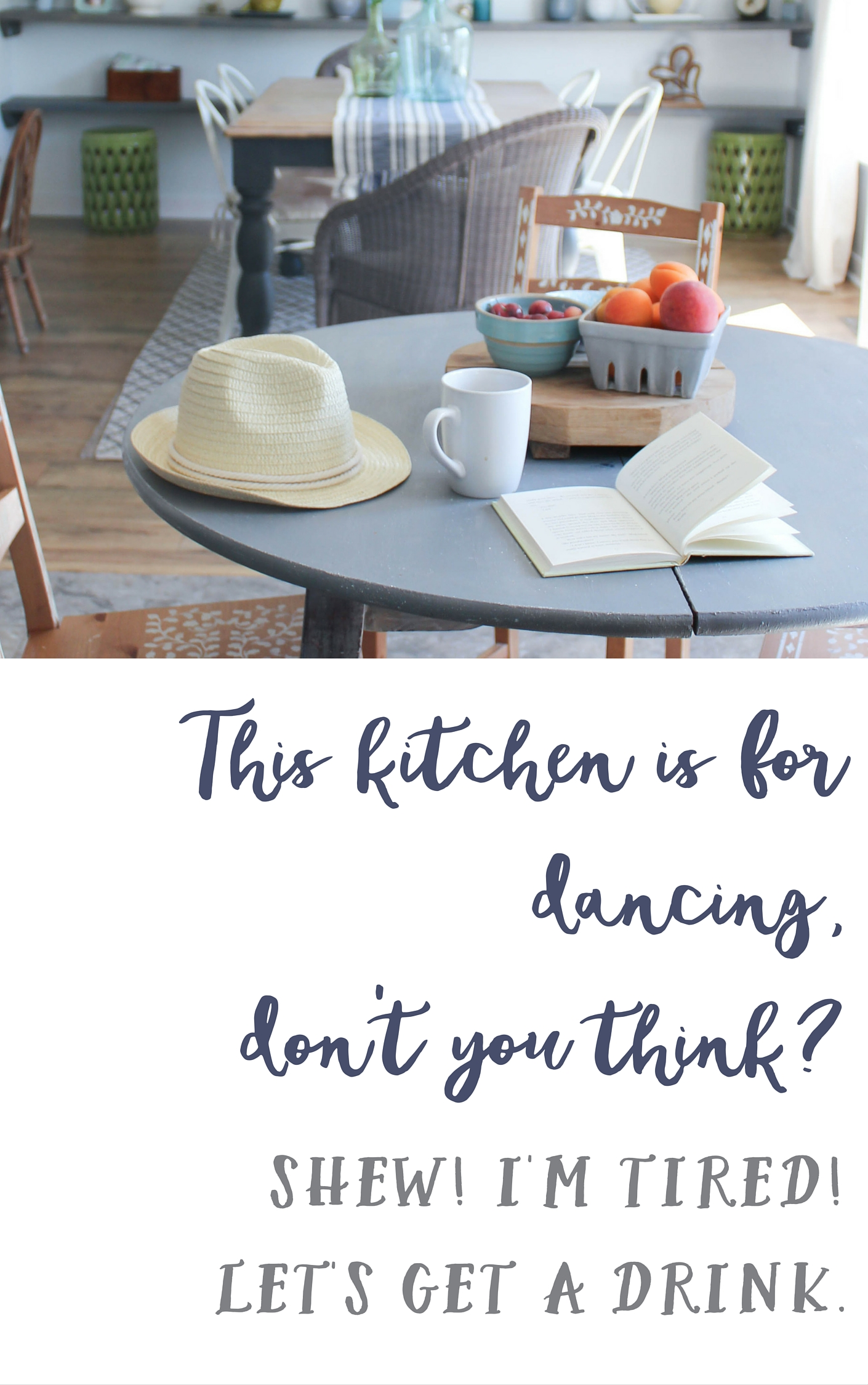 kitchen for dancing