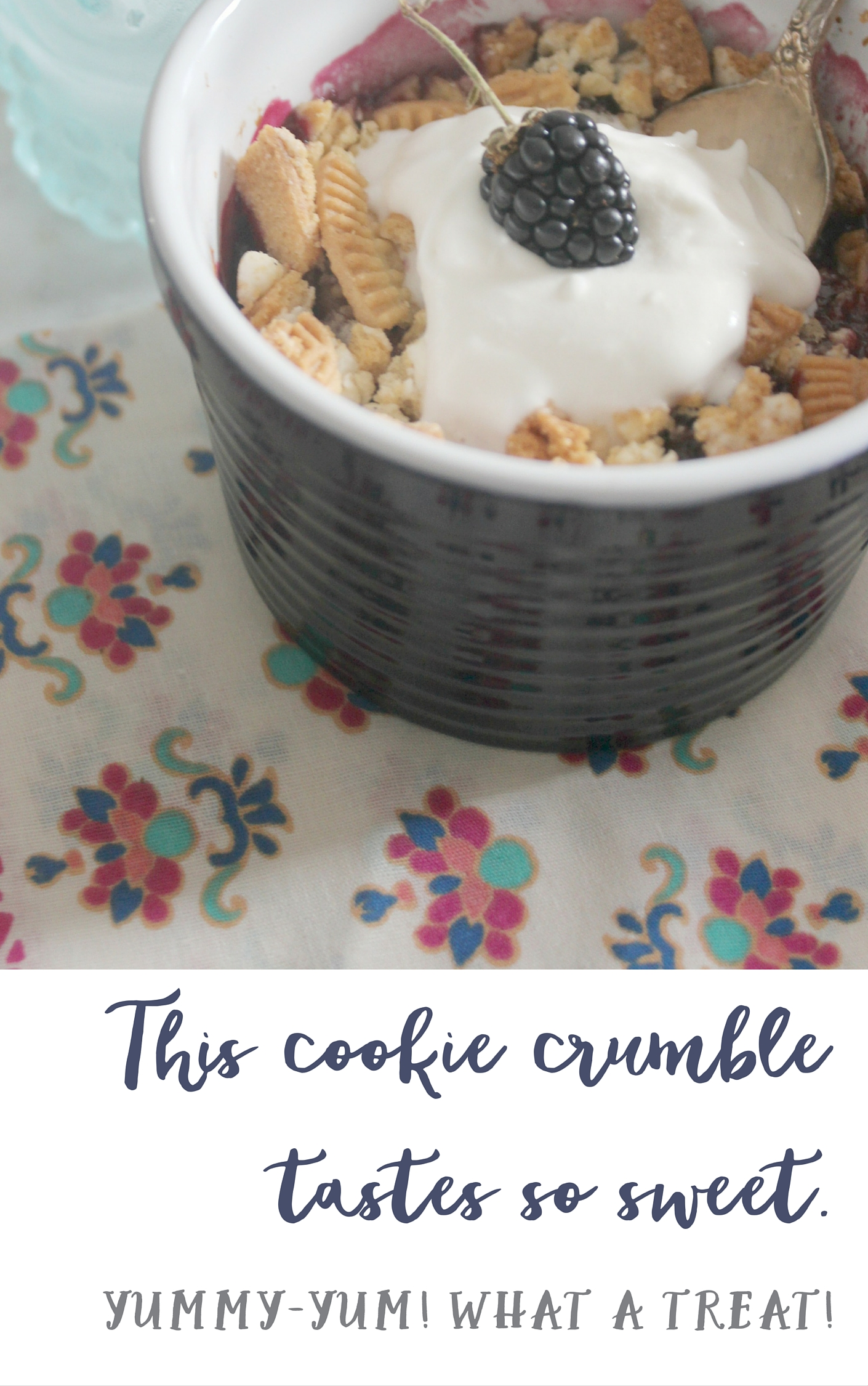 this cookie crumble