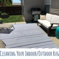 cleaning indoor outdoor rug