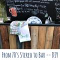 stereo to bar DIY blog
