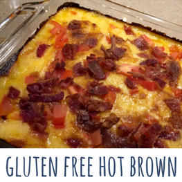 gluten free hot brown