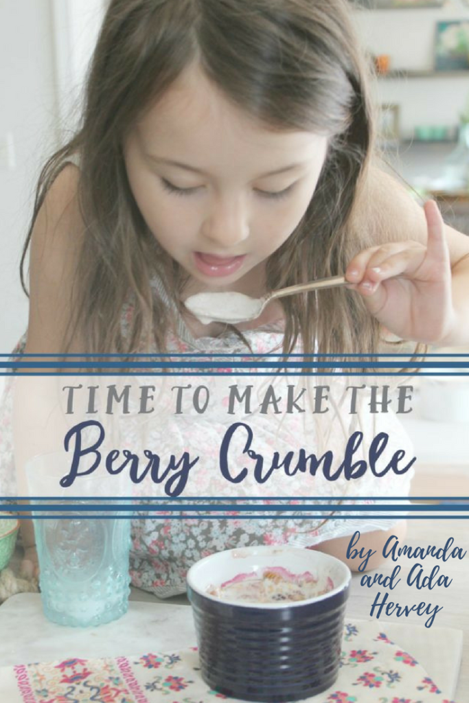 berry crumble book