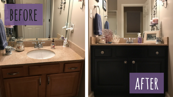 Gentil I Have Been Wanting To Paint My Bathroom Vanities For A Loooooooong Time. I  Changed My Mind No Less Than Ten Times On The Color. The Bathroom Isnu0027t  Badu2026.it ...