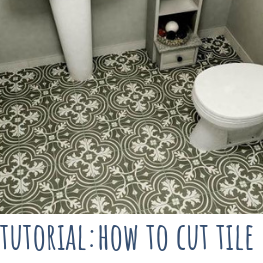 Install Tile Without A Scary Saw, How To Cut Bathroom Tile