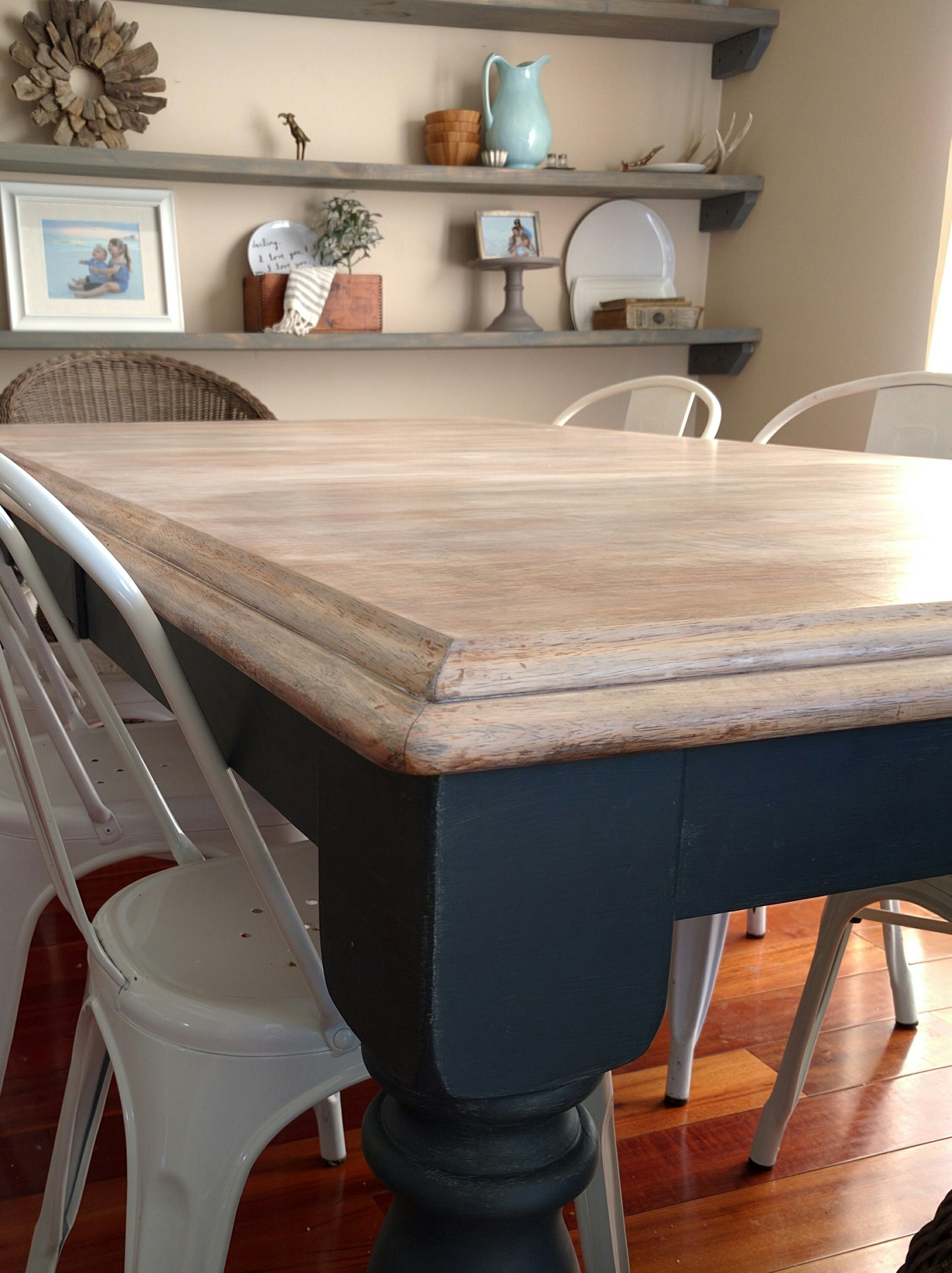 Limewashed Dining Table