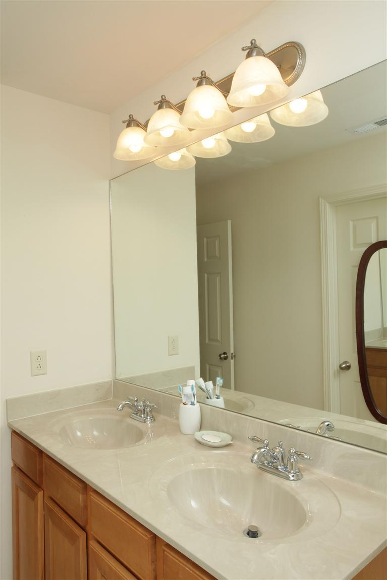 Preferred How to Install a Driftwood Frame Over Your Builder-Basic Bathroom  QU48